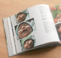 : DIY Baby Memory Book Ideas {with Blurb Photo Book Giveaway}