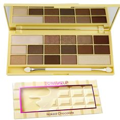 MAKEUP REVOLUTION Too Faced Dupe NAKED CHOCOLATE Eyeshadow Palette