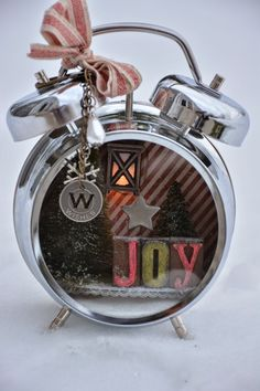The Journey Awakens the Soul...: Tim Holtz Assemblage Clock