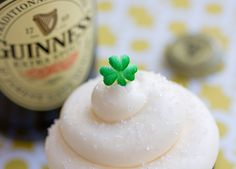 Trophy's Chocolate Guinness Stout with Baileys Irish Cream Buttercream. St. Patricks Day!