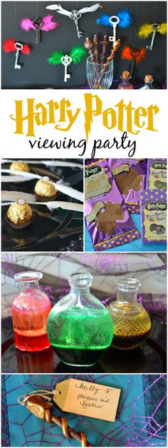 Harry Potter Viewing Party - | The Shopping MamaThe Shopping Mama