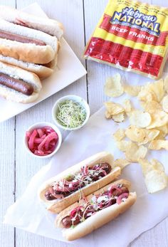 Springtime Barbecued Hot Dogs Recipe