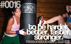 Reasons to be Fit