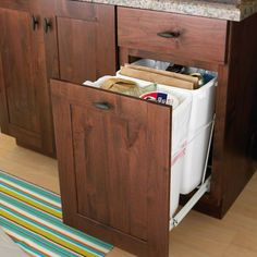 Use Semicustom Cabinets to Help Sort
