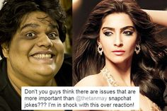 Sonam Kapoor SUPPORTS Tanmay Bhat in Sachin Tendulkar and Lata Mangeshkars spoof controversy