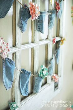 TEACH | All-Occasion Denim Pocket Banner (Part I)