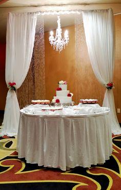 rental catalogue curtains white wedding backdrop
