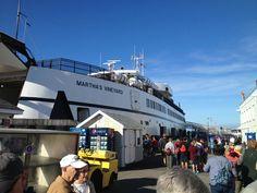 Steamship Authority - Woods Hole Terminal in Woods Hole, MA. Ferries to Martha's Vineyard and Nantucket. Woods Hole Massachusetts, Seaside Village, Martha's Vineyard, Nantucket, Cape Cod, Vacation Spots, Islands, Coastal, Ships