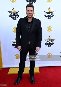 Recording artist Chris Young attends the 50th Academy Of Country... News Photo | Getty Images