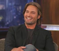 Josh Holloway (Sawyer) on Jimmy Kimmel San Jose, Josh Holloway, Lost Sawyer, Life Of Kylie, James Ford, Ethan Hawke, Great Smiles, Boy Meets World, David Garrett