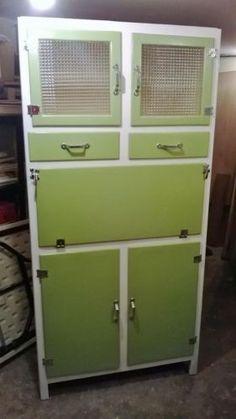 vintage kitchen larder  