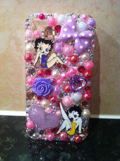 Betty boo custom made case