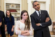 McKayla...still not impressed. For the win!