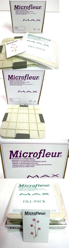 Dried Flowers 16493: New! Microfleur 9 (23 Cm) Microwave Max Flower Press + Fill Pack -> BUY IT NOW ONLY: $49.99 on eBay!