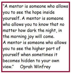 Job Mentor Quotes By Quotesgram  Mentor Banquet