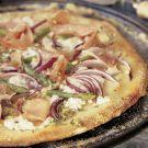Try the Asparagus, Goat Cheese & Prosciutto Pizza Recipe on williams-sonoma.com
