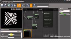 Spirals in Unreal Engine 4 Material Editor
