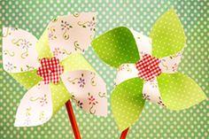 moulin à vent en papier - Activités été pour les enfants - Momes.net