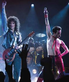 Gwil and Rami from Bohemian Rhapsody Brian May, Roger Taylor, Ben Hardy, Rami Malek, Queen Freddie Mercury, Queen Band, John Deacon, Killer Queen, Save The Queen