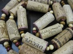 What to do with leftover wine corks? Well, use them to complete one of these unbelievable DIY Wine Cork Projects and Ideas available here with the tutorials! Wine Craft, Wine Cork Crafts, Bottle Crafts, Cork Christmas Trees, Christmas Crafts, Holiday Tree, Christmas Decorations, Christmas Garlands, Xmas Tree