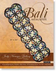 Bali Bed Runner Pattern by Judy Niemeyer