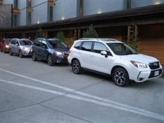 Subaru Forester 2014 - groupe