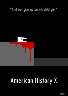 American History X #minimal #movie #poster