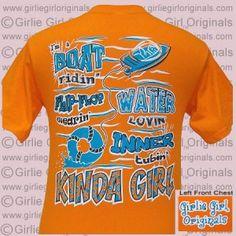 Boat - Mandarin Orange (Short Sleeve)