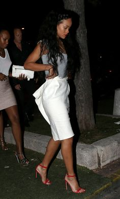 Rihanna in the South of France