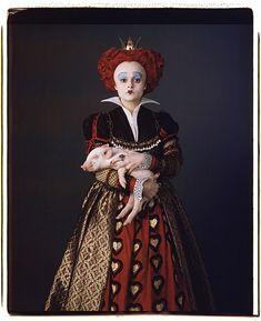 Horror Alice In Wonderland   Helena Bonham Carter in Alice in Wonderland (2010) Movie Image ...