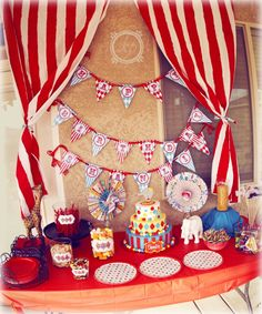 love this for a circus birthday