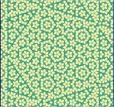 Penrose Tiling | more Penrose Tile possibilities from the fractal page of Jos Leys