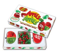 Jelly Belly Apples to Apples Game Box with Jelly Beans