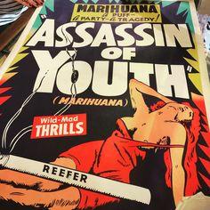 Assassin of Youth Black Light Posters, Best Black, Assassin, Youth, Comic Books, Comics, Art, Art Background, Kunst