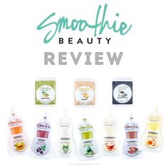 REVIEW | Smoothie Beauty Fresh Facial Masks + Smoother Boosters