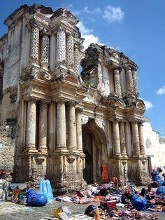 Impressive Ruinas El Carmen, Antigua, Guatemala