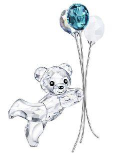 Kris Bear - Swarovski Crystal Balloons for You - SALE.  Swarovski Crystal Figurine.