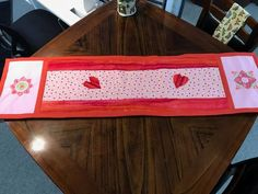 Put a little love in your quilt! Quilts, Love, Red, Home Decor, Amor, Comforters, Quilt Sets, Interior Design, Patchwork Quilting
