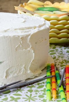 Margarita Layer Cake - there is even tequila in the frosting;-) I never would have thought of Margarita cake Sweet Desserts, Just Desserts, Sweet Recipes, Delicious Desserts, Cupcake Recipes, Cupcake Cakes, Dessert Recipes, Baking Recipes, Just Cakes