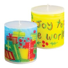 candle printing
