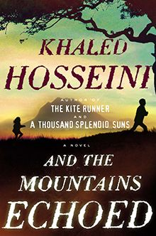We will be discussing And the Mountains Echoed by Khaled Hosseini on Monday, Nov. 21 at 6:30pm.