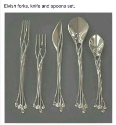 Blunt the knives, bend the forks!
