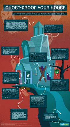Ghost-Proof Your House: Superstitions From Around The World To Keep Spirits and Ghosts Away