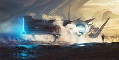 """Explore The Lost Land"": The Superb Digital Concept Artworks By Bastien Grivet"