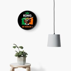 #thekingisback #conormcgregor #ufc #mma #findyourthing #shirtsonline #trends #riveofficial #favouriteshirts  #art #style #design #shopping #redbubble #digitalart #design #fashion #phonecases #customproducts #onlineshopping #accessories #shoponline #onlinestore Conor Mcgregor, Table Accessories, Quartz Clock Mechanism, Modern Prints, Sell Your Art, Ufc, Decorating Your Home, Ireland, Custom Design