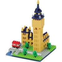 Nanoblock Big Ben: Enjoy hours of construction fun with the nanoblock Big Ben. 'Big Ben' is the nickname for the great bell that chimes the…