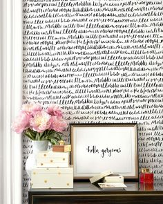 DesignWall Accent Wall Ideas You'll Surely Wish to Try This at Home Gallery wall living room Photo collage wall Gallery wall ideas Picture collage ideas Hallway decorating Hobby lobby decor Rustic bedroom Gallery wall living room Home Renovation, Kate Spade Wallpaper, Hobby Lobby Decor, Accent Wall Decor, Accent Walls, Gallery Wall Bedroom, Living Room Photos, Living Rooms, Hallway Decorating