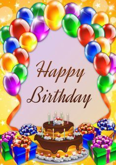 Happy Birthday wishes cards and greeting cards feliz cumple mi niña Birthday Wishes Greetings, Happy Birthday Frame, Happy Birthday Wishes Images, Happy Birthday Celebration, Happy Birthday Flower, Birthday Blessings, Happy Birthday Balloons, Happy Birthday Cards, Cute Happy Birthday Pictures