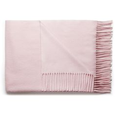 ACNE Canada light pink (955 VEF) ❤ liked on Polyvore featuring accessories, scarves, fillers, pink, home, fringe scarves, pink scarves, wool shawl, wool scarves and acne studios