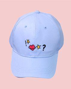 star heart cap